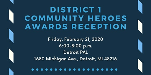 Community Heroes Awards Reception