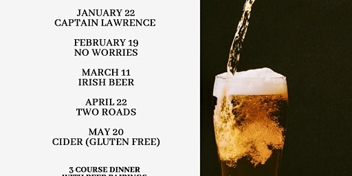Beer Dinner with Captain Lawrence