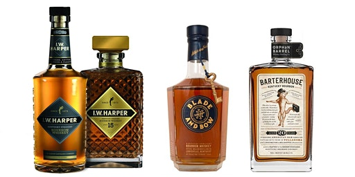 Tasting of I.W. Harper, Blade & Bow and Orphan Barrel