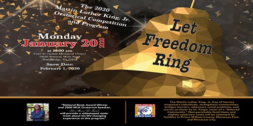 30th Annual Dr. Martin Luther King, Jr. Oratorical Program