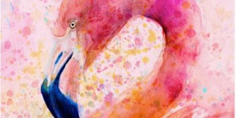 Fabulous Flamingo - Social Art Class tickets