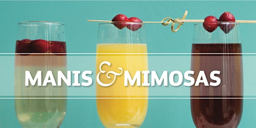 Manicures and Mimosas Valentine's Day Pop Up Shop