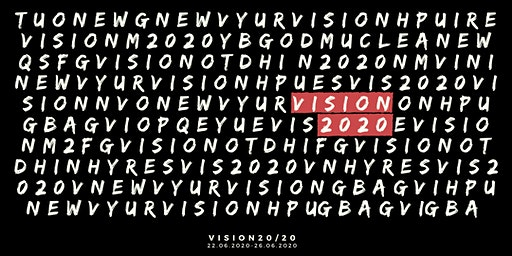 #VISION2020