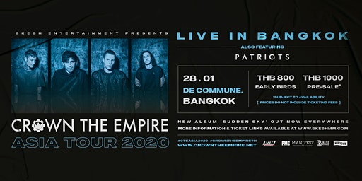 Crown The Empire Live In Bangkok 2020