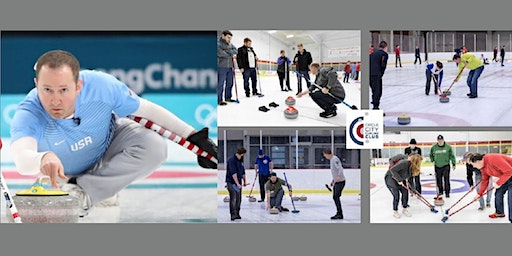 Night of Curling with Olympian Tyler George
