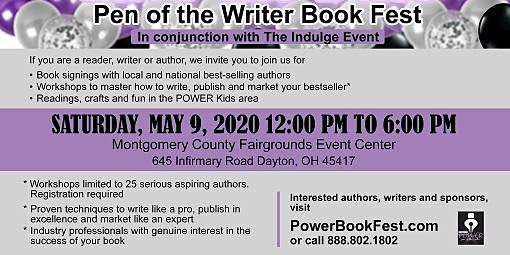 POWER Book Fest Sponsor and Advertiser Schedule