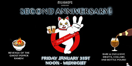 Milk & Hops Ramen Bar 2nd Anniversary tickets