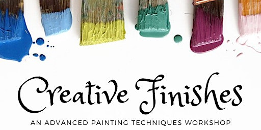 Creative Finishes Furniture Painting Workshop
