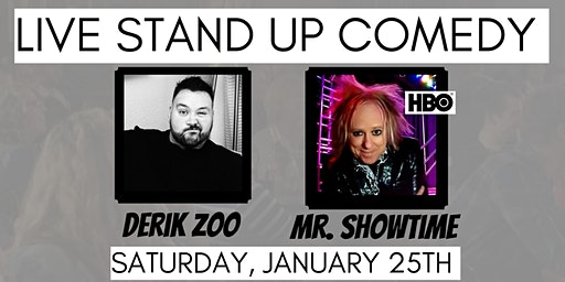 LIVE Stand Up Comedy at Tuscan Hills Winery with Mr. Showtime!