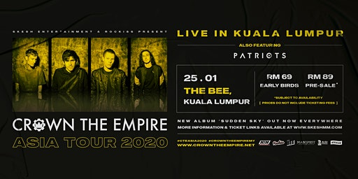 Crown The Empire Live In Kuala Lumpur 2020