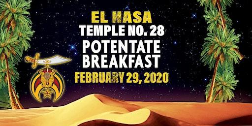 El Hasa Potentate Breakfast - Day Party