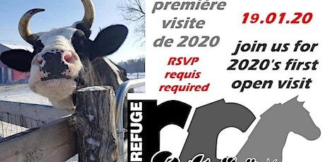 Janvier au Refuge RR - First open visit of 2020 - NOW JAN 26 - 2020 tickets