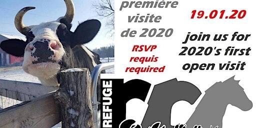 Janvier au Refuge RR - First open visit of 2020 - NOW JAN 26 - 2020