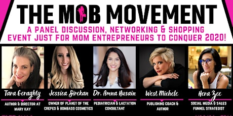 The MOB Movement, A Panel Discussion, Networking & Shopping Event tickets