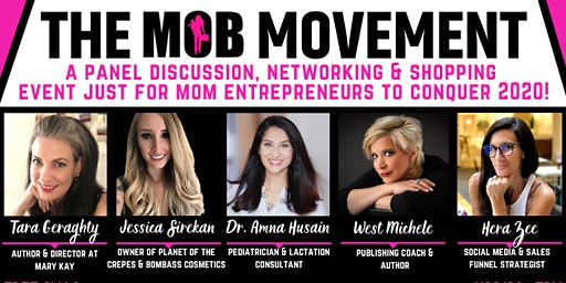 The MOB Movement, A Panel Discussion, Networking & Shopping Event