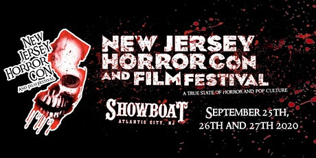 NJ Horror Con Tickets For FALL 2020 tickets