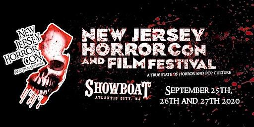NJ Horror Con Tickets For FALL 2020