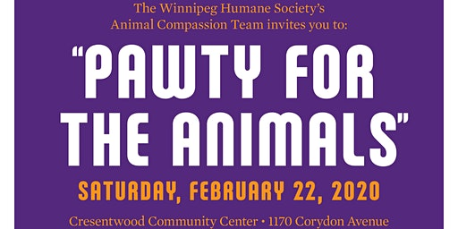 The Winnipeg Humane Society's 'Pawty For the Animals'