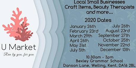 U Market Community Market & Pamper Event tickets