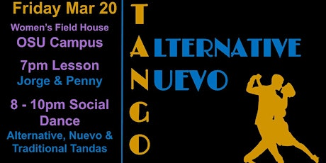 Tango Lesson & Alternative Social Dance Party tickets