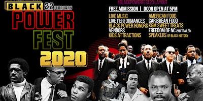 Black History Event - Black Power Fest 20