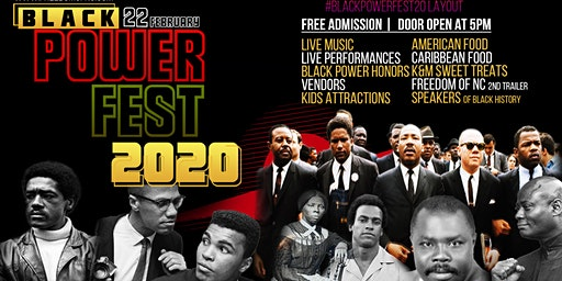 Black History Event - Black Power Fest 20