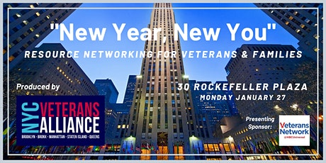 """""""New Year, New You"""" Resource Networking for Veterans & Families tickets"""