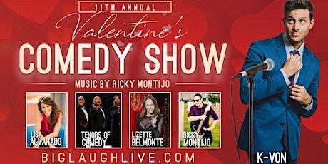BIG Laugh Live! Valentine's Comedy & Music Event tickets