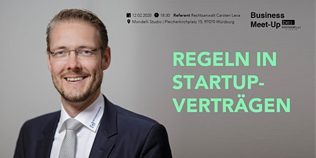 Regeln in Startup-Verträgen be content Meetup featuring Carsten Lexa Tickets