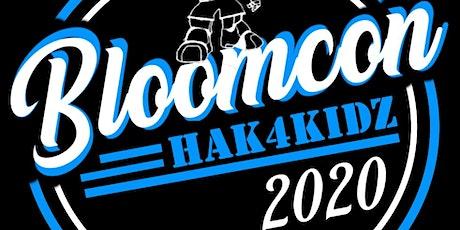 BloomCON Hak4Kidz tickets