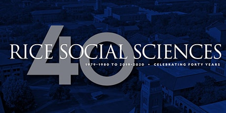 School of Social Sciences 40th Anniversary Distinguished Alumni Lecture: David Rhodes '96 (Economics and Political Science) tickets