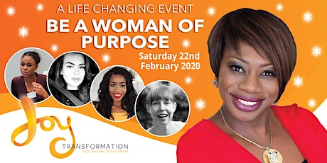 Be a Woman of Purpose London tickets