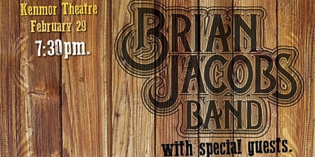 Brian Jacobs Band @ Kenmor Theatre tickets