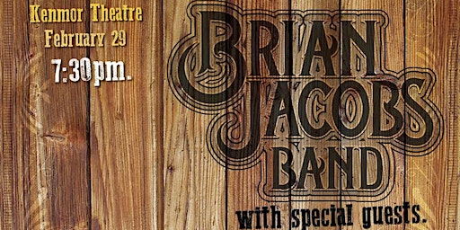 Brian Jacobs Band @ Kenmor Theatre