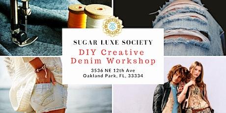 DIY Creative Denim Workshop 1 tickets