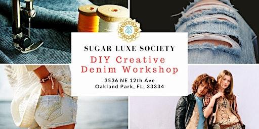 DIY Creative Denim Workshop 1