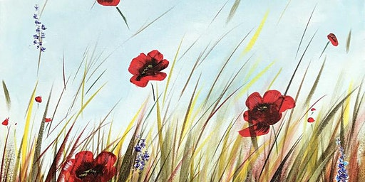 Poppy Field Brush Party - Guildford