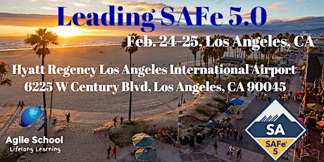 Leading SAFe 5.0 with SA Certification - Los Angeles  tickets