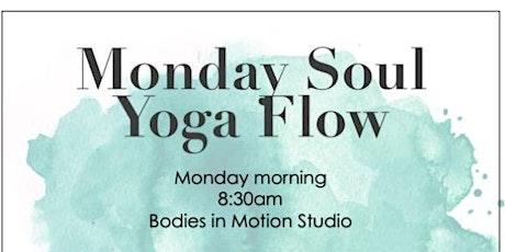 Monday Soul Flow Yoga! tickets
