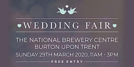 Burton Wedding Fair at The National Brewery Centre - Spring tickets