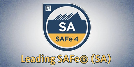 Leading SAFe® 4.6/5.0 (SA) Course and Certification - 2 Days in Zurich tickets