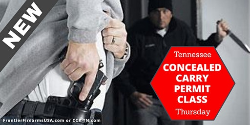 *NEW* Concealed Carry Permit Class - Thurs.
