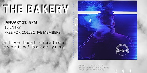 THE BAKERY -  A Live Beat Creation with Baker Yung