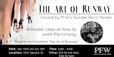 The Art of Runway: Model Master Class tickets