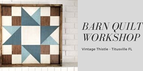 Barn Quilt Workshop tickets