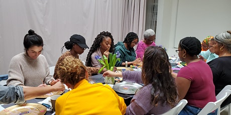 """Pvssy Plate Painting Party: Recreating Judy Chicago's """"The Dinner Party"""" tickets"""