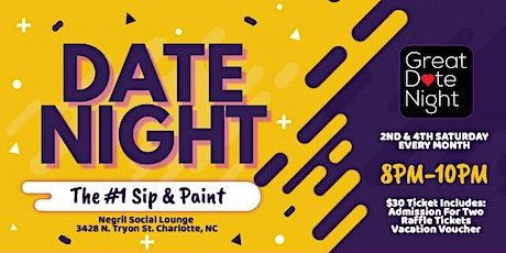 Date Night: The #1 Sip & Paint Experience tickets