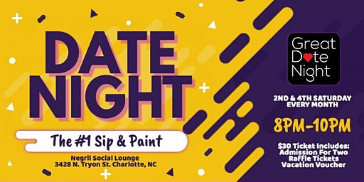 Date Night: The #1 Sip & Paint Experience