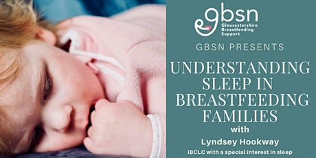 Understanding sleep in breastfeeding families with  Lyndsey Hookway tickets