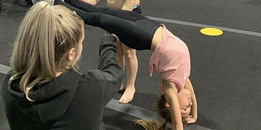 Front and Back Handspring Workshop - Saturday 22nd February. 1:30-3:00